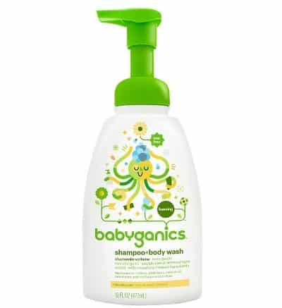 Babyganics Baby Shampoo and Body Wash
