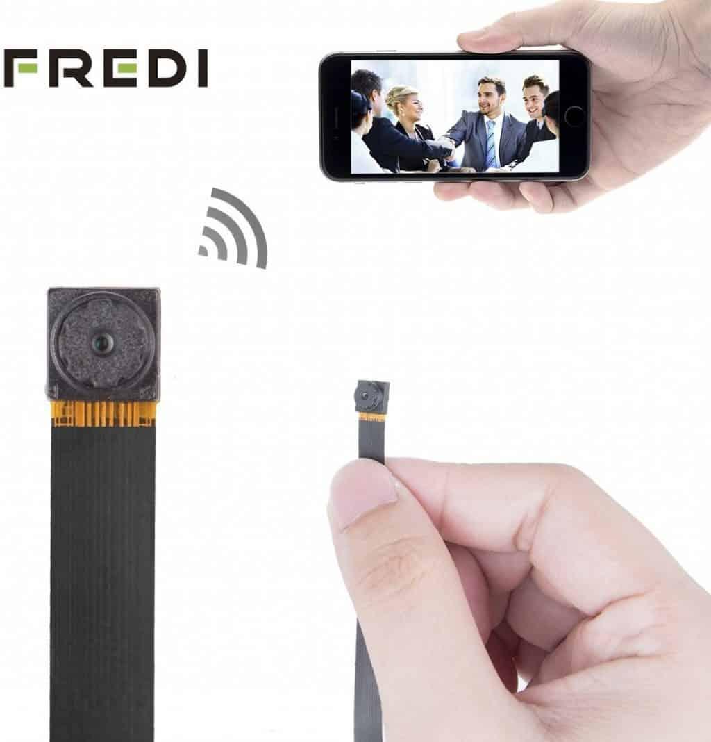 FREDI HD Mini Portable Hidden Spy Camera