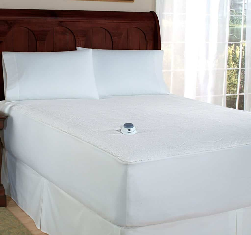 Soft Heat Micro-Plush Mattress Pad
