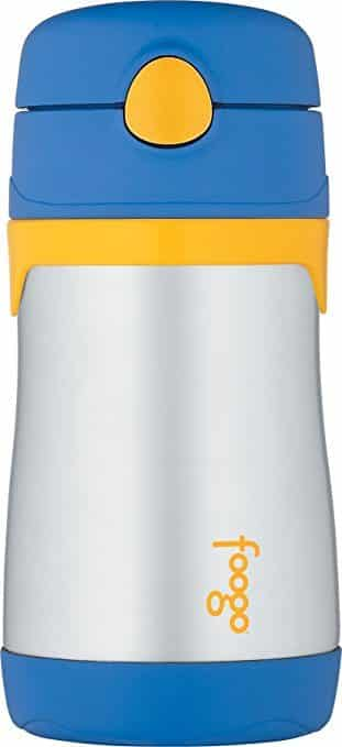 Thermos Foogo Vacuum Insulated Straw Bottle