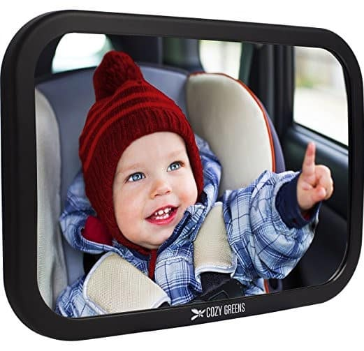 Cozy Greens Baby Car Mirror for Back Seat