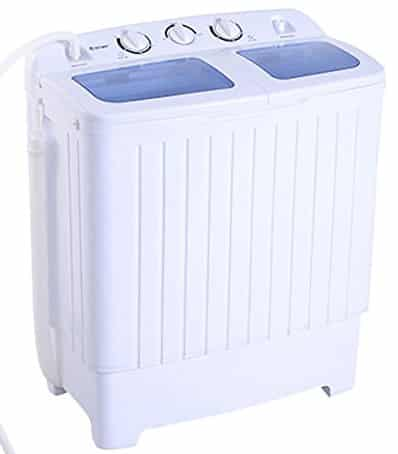 Giantex Compact Twin Tub Washing Machine
