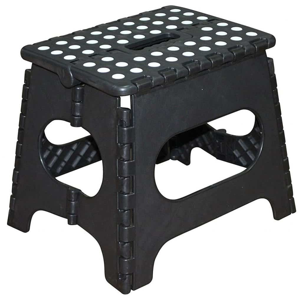 Jeronic Plastic Folding Step Stool