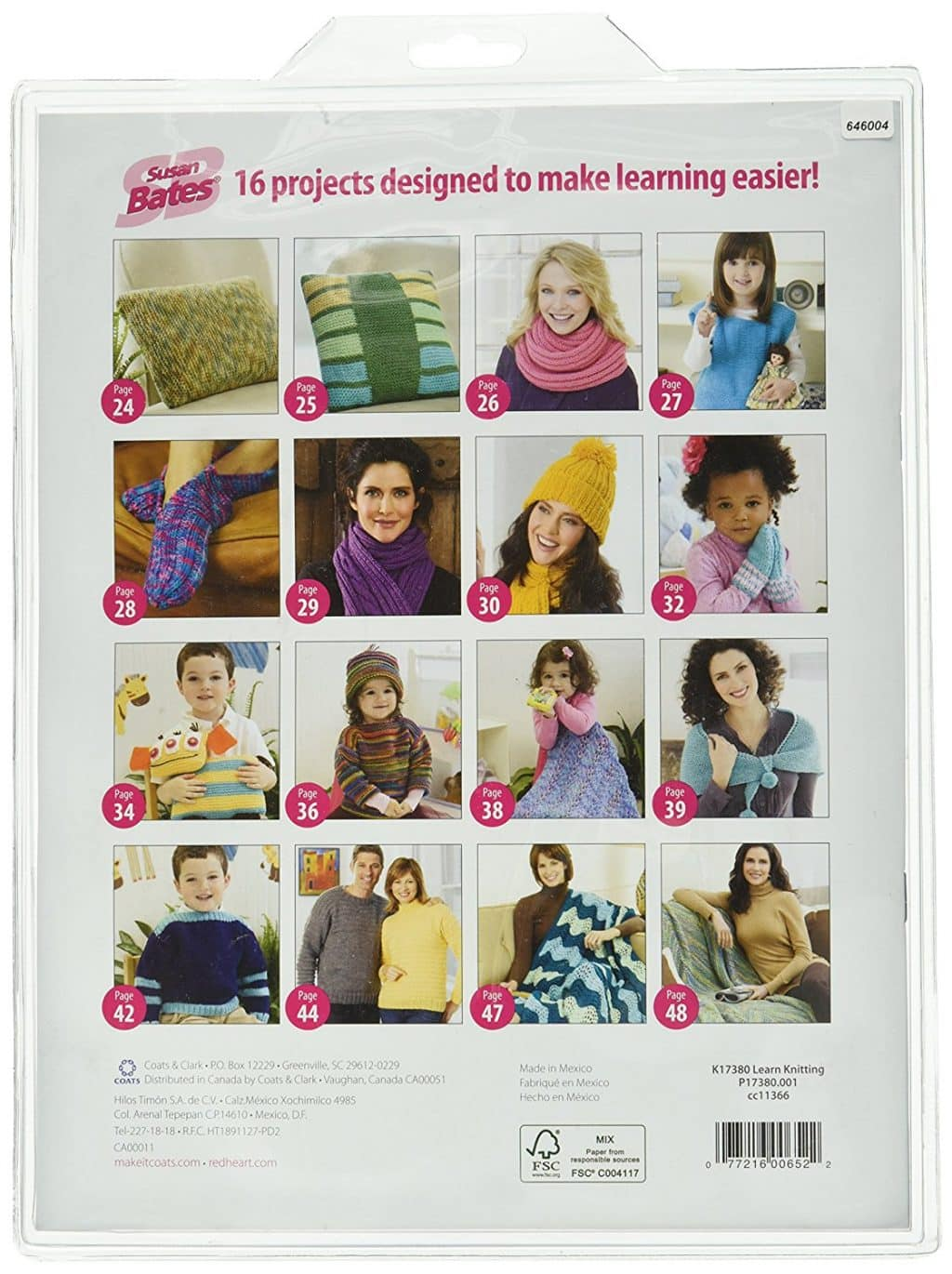 Susan Bates Knitting Teacher Kit
