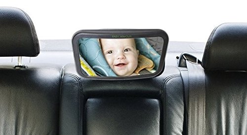 1 Set Auto Baby Back Seat Rear View Mirror for Infant Child Toddler Safety View