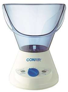 Conair Facial Sauna with Timer Blue Cream
