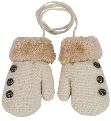 DZT1968® 1 Pair Winter Baby Cute Thick Gloves Mittens With