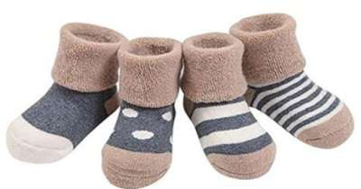 Elevin TM Baby Toddler Knitting Cotton Soft Sole Snow Boots Socks Soft Crib Shoes