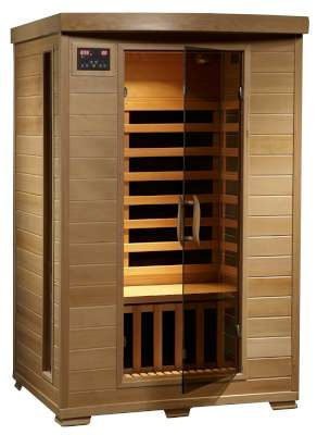 Hemlock Deluxe Infrared Sauna w/ 6 Carbon Heaters