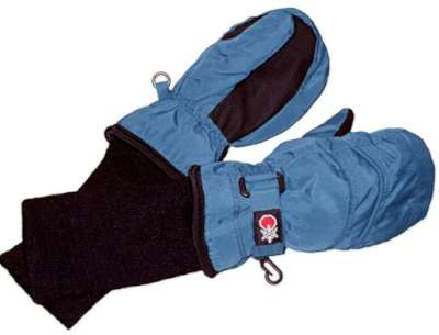 SnowStoppers Kids Waterproof Stay On Winter Nylon Mittens