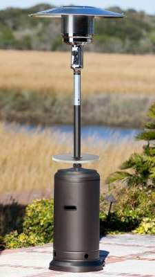 Fire Sense 46,000 BTU (XL-Series) Matte-Mocha Patio Heater