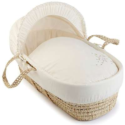 Clair de Lune Starburst Palm Moses Basket