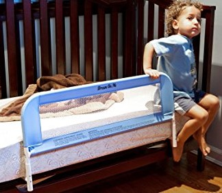 Dream On Me Mesh Security Crib Rail
