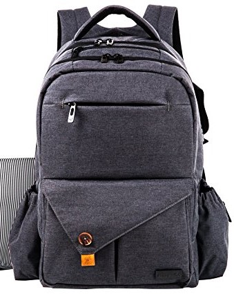62e6c5820cb7 HapTim Large Baby Diaper Backpack