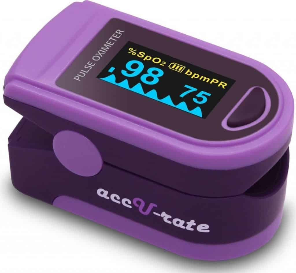 Acc U Rate Pro Series CMS 500D Deluxe Pulse Oximeter