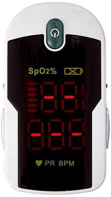 Concord Health Supply Fingertip Pulse Oximeter