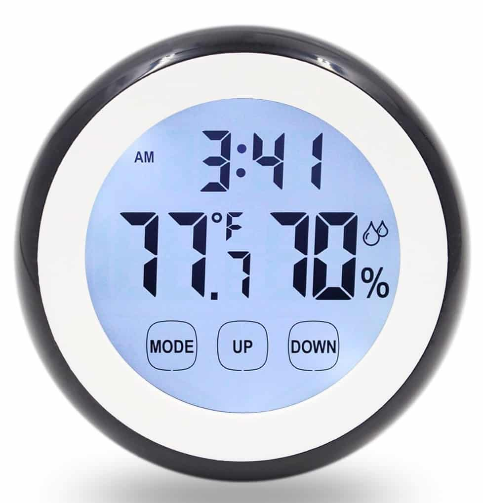 Hippih Digital Magnet Humidity Monitor