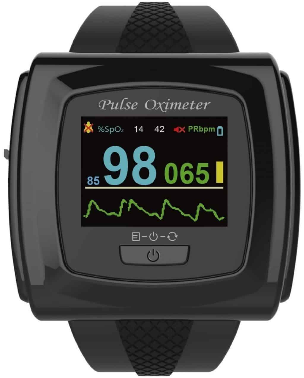 Innovo CMS 50F PLUS OLED Wrist Color Pulse Oximeter
