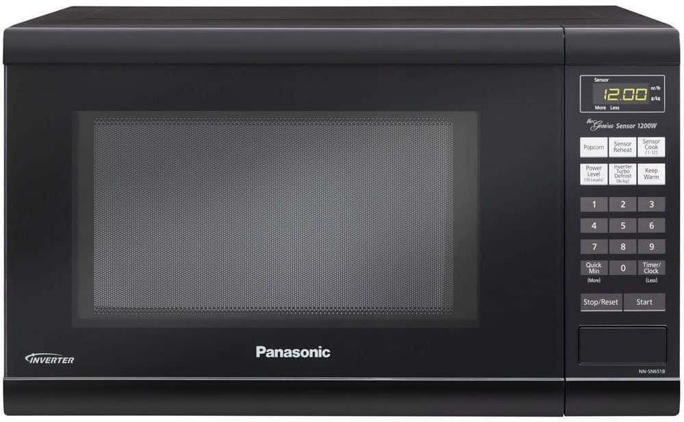 Panasonic NN-SN651B Countertop Microwave Oven