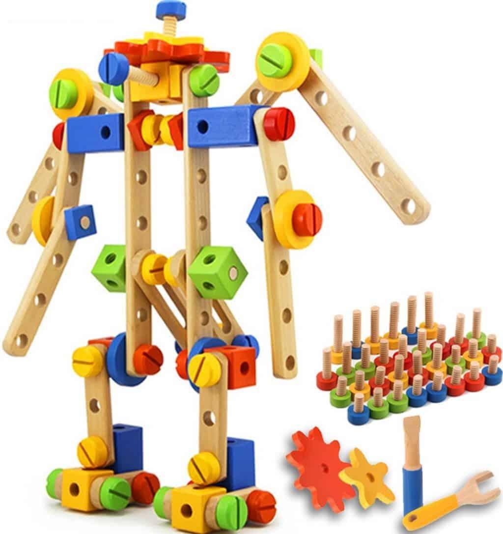 QuadPro Wooden Blocks Set