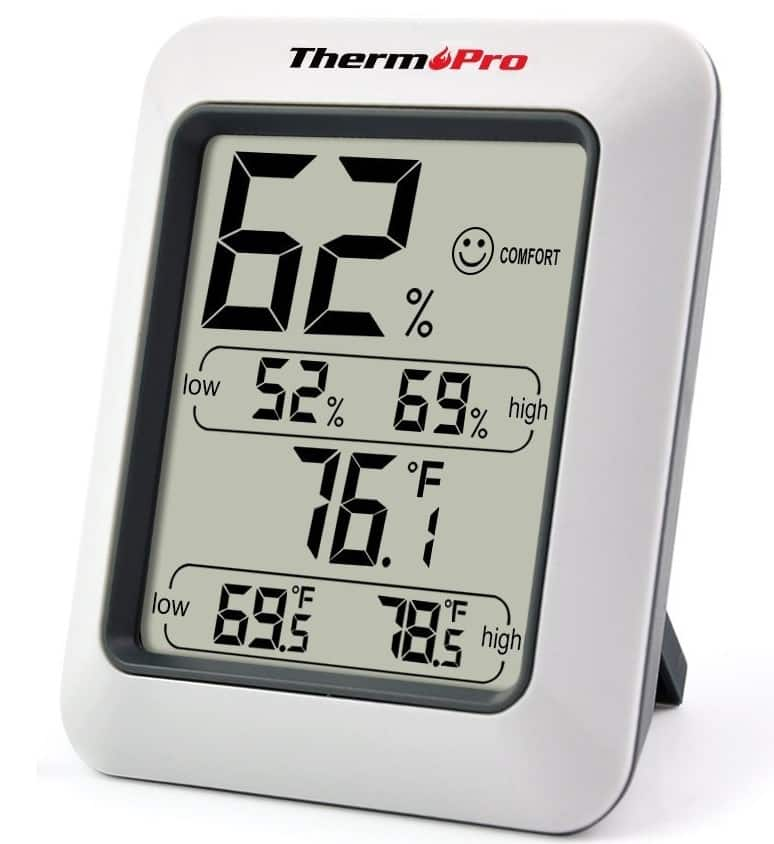 ThermoPro TP50 Hygrometer Humidity Monitor