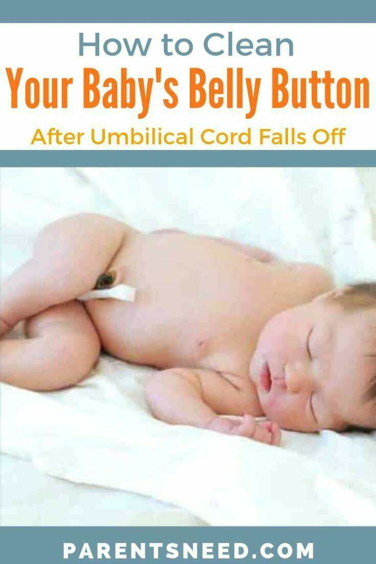 How to Clean Babies Belly Button After Umbilical Cord Stump falls off