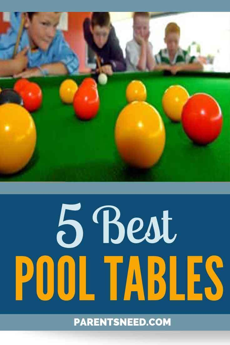 Top 5 Best Pool Tables Reviews