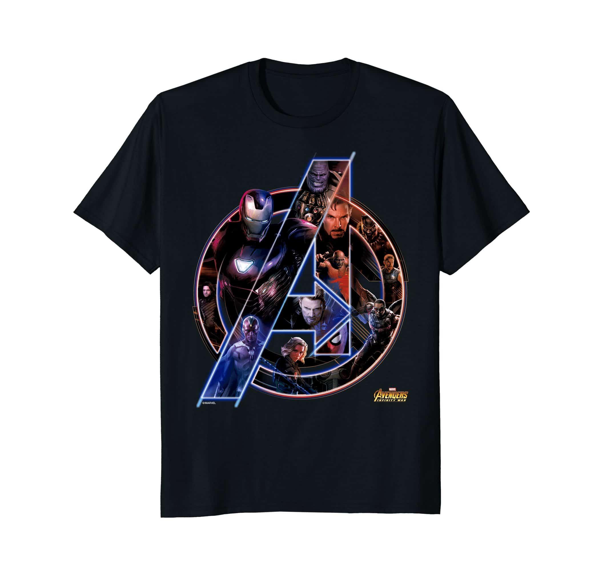 marvel avengers infinity war t-shirt