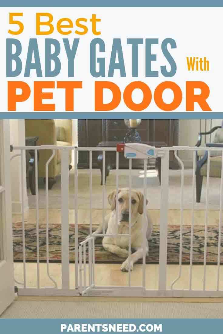Protect your child and pets with the best baby gates with pet door