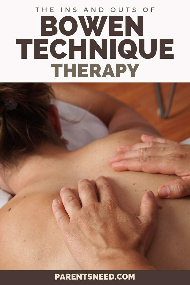 ins and outs of the bowen therapy technique