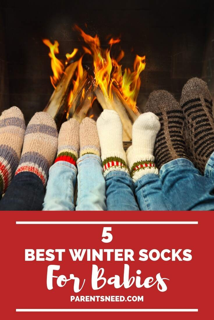 Warm up your baby's toes with the top 5 best winter socks for babies