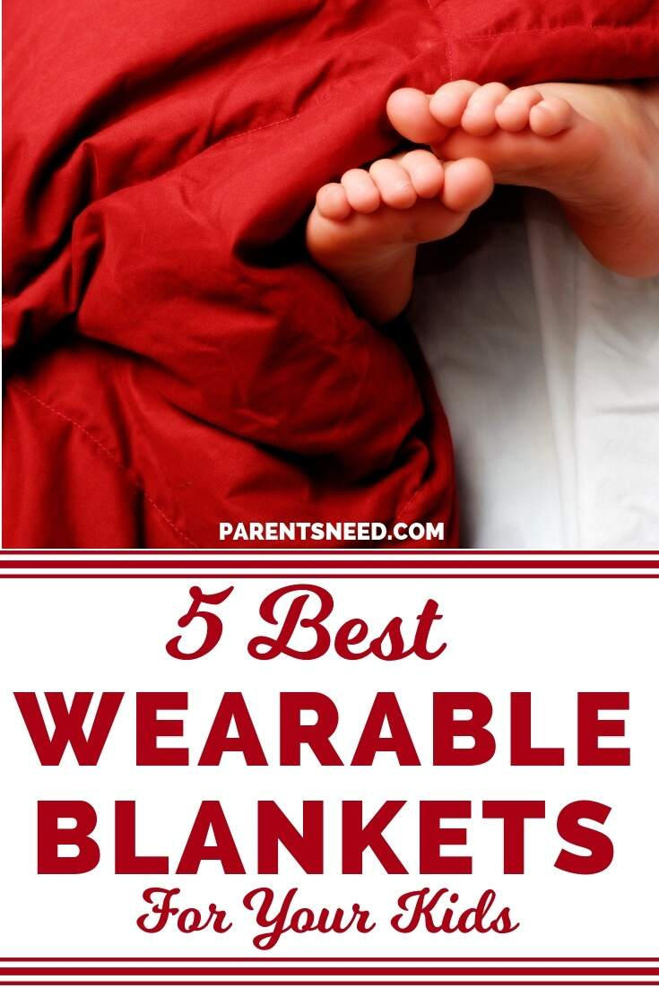 top 5 best wearable blankets for your babies and kids