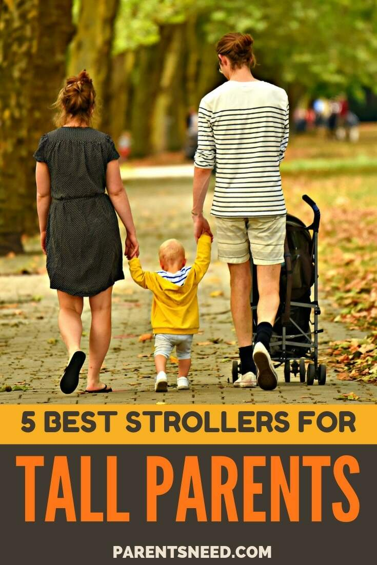 tall parent's 5 best stroller choices