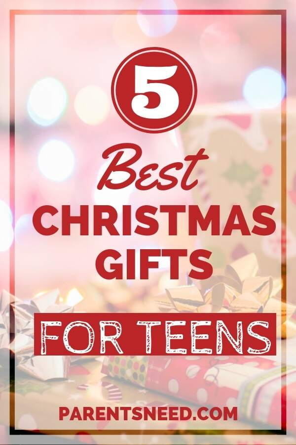 top 5 best Christmas presents for teens