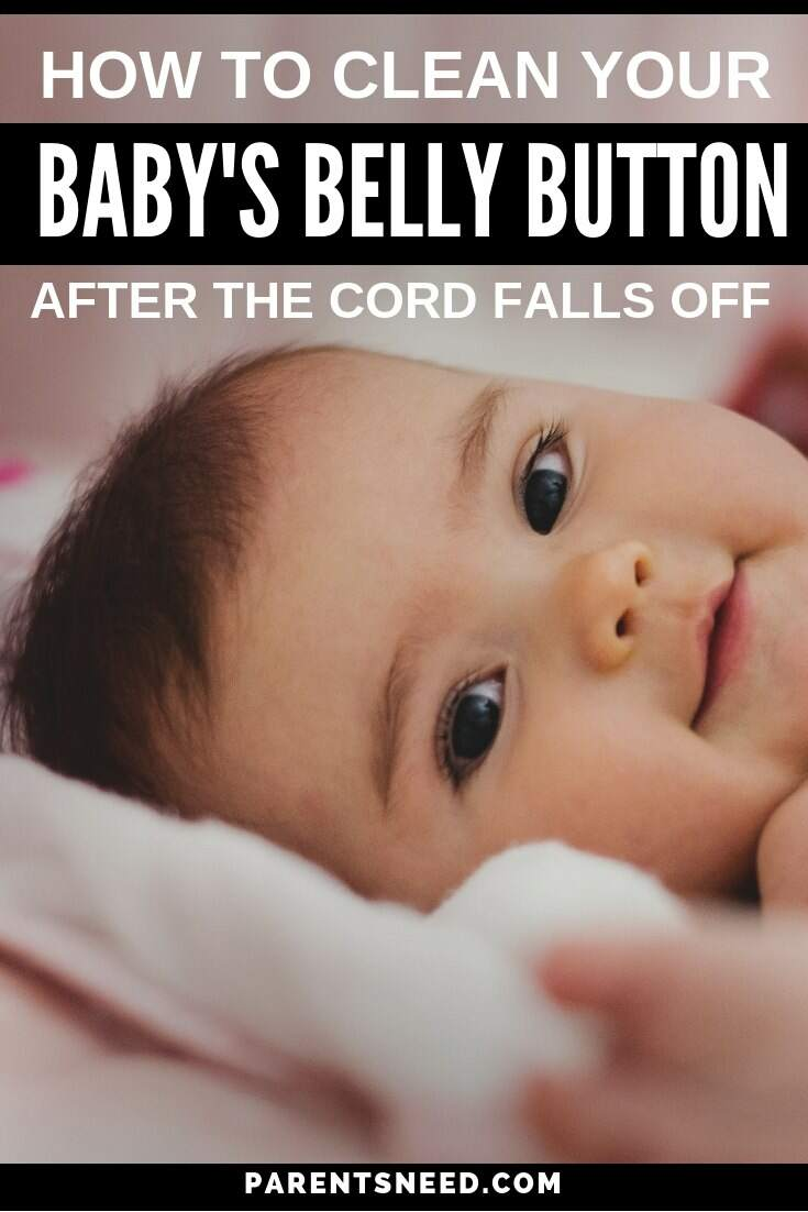 Baby's belly button cleaning guide