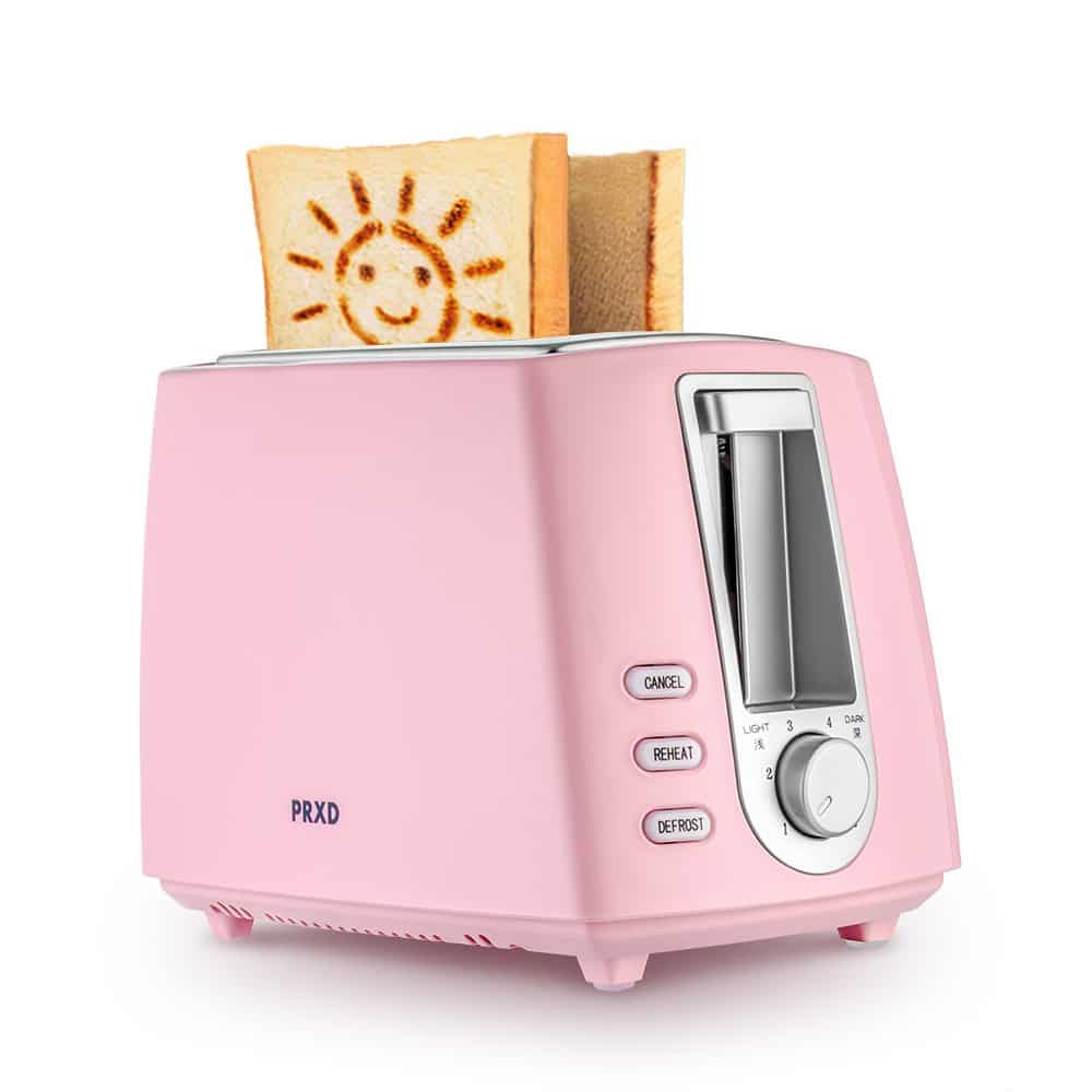 smiley face toaster with keep warm