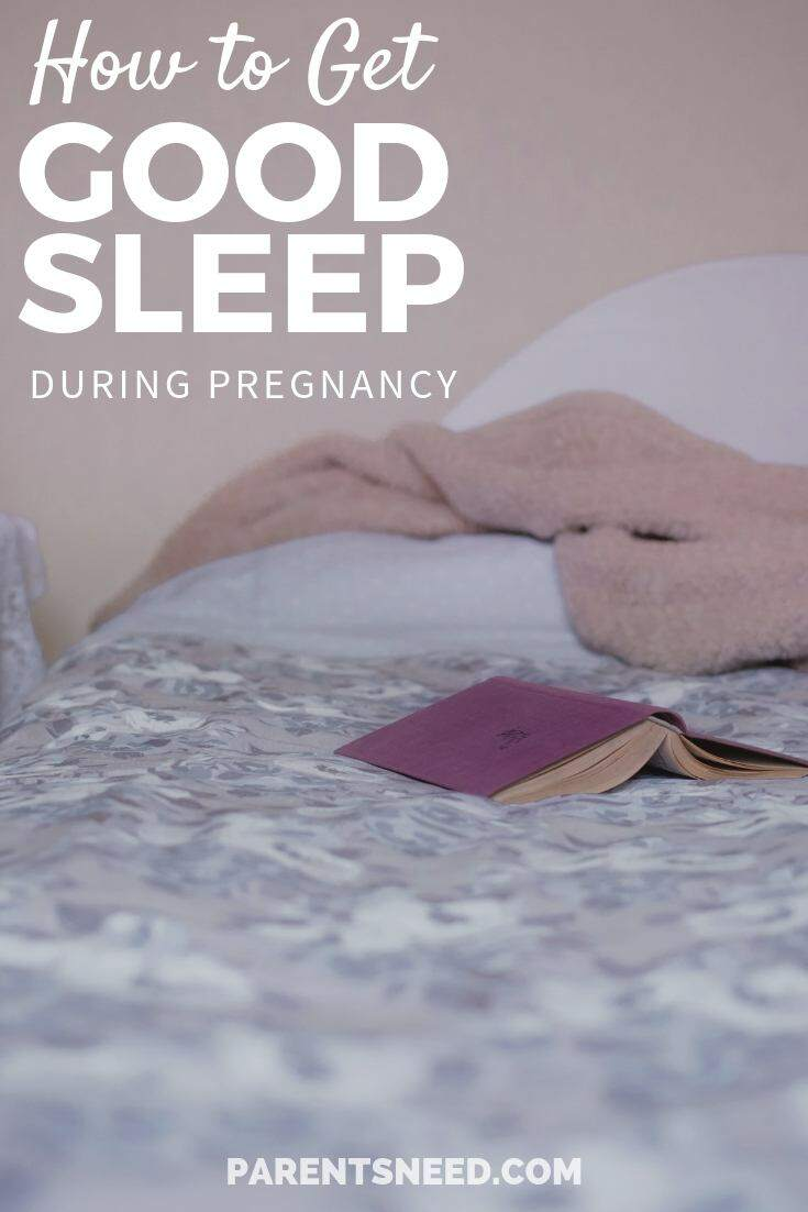 guide to getting a good night's sleep when pregnant