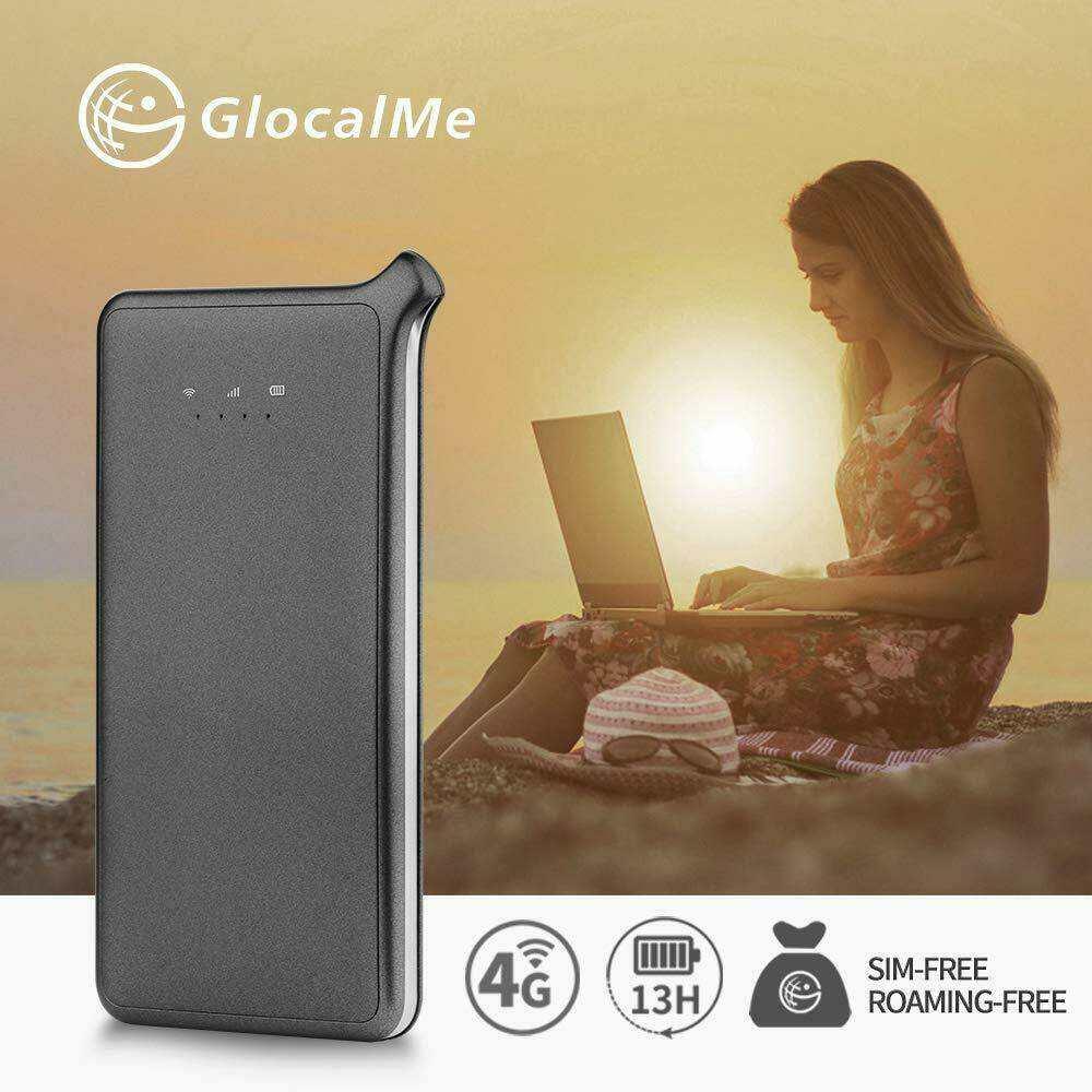 Glocalme mobile wifi hotspot