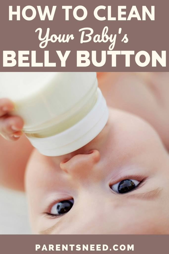Babys belly button cleaning guide
