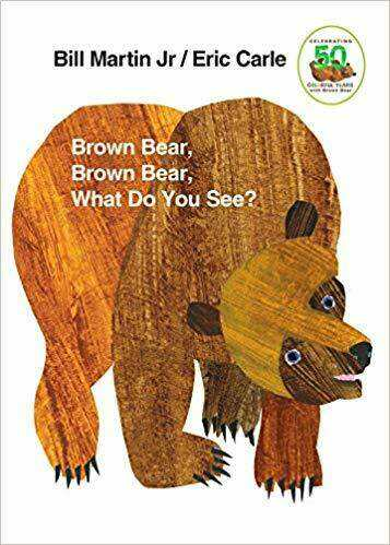 Children's Bedtime Story Book Brown Bear What Do You See?