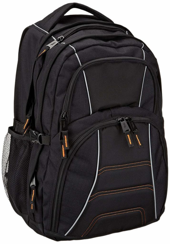 Amazon basic backpack in black