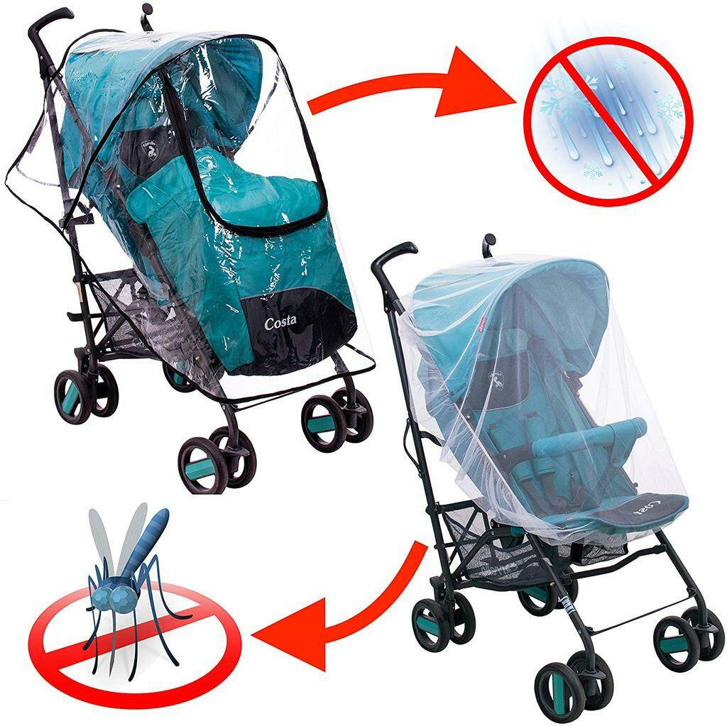 Rain Cover and Mosquito Net for stroller